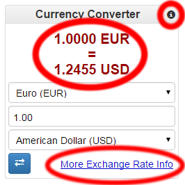 Remove Our Links From The Converter Currency